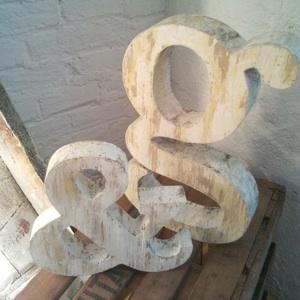 Tipografía de madera/Wooden typography