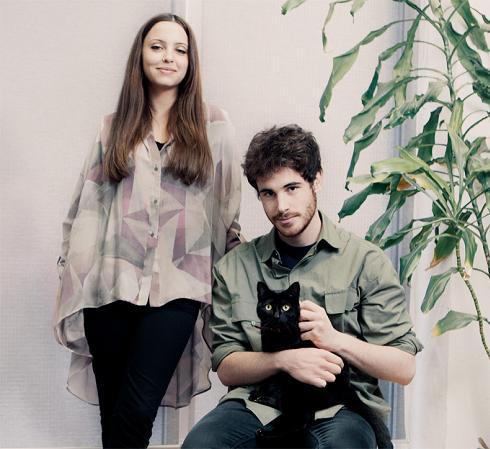 Jordi Espino y Elisabet Vallecillo
