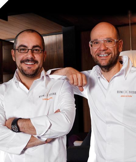 Xano Saguer y Jordi Butrón