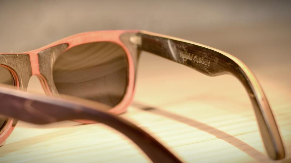 gafas recicladas